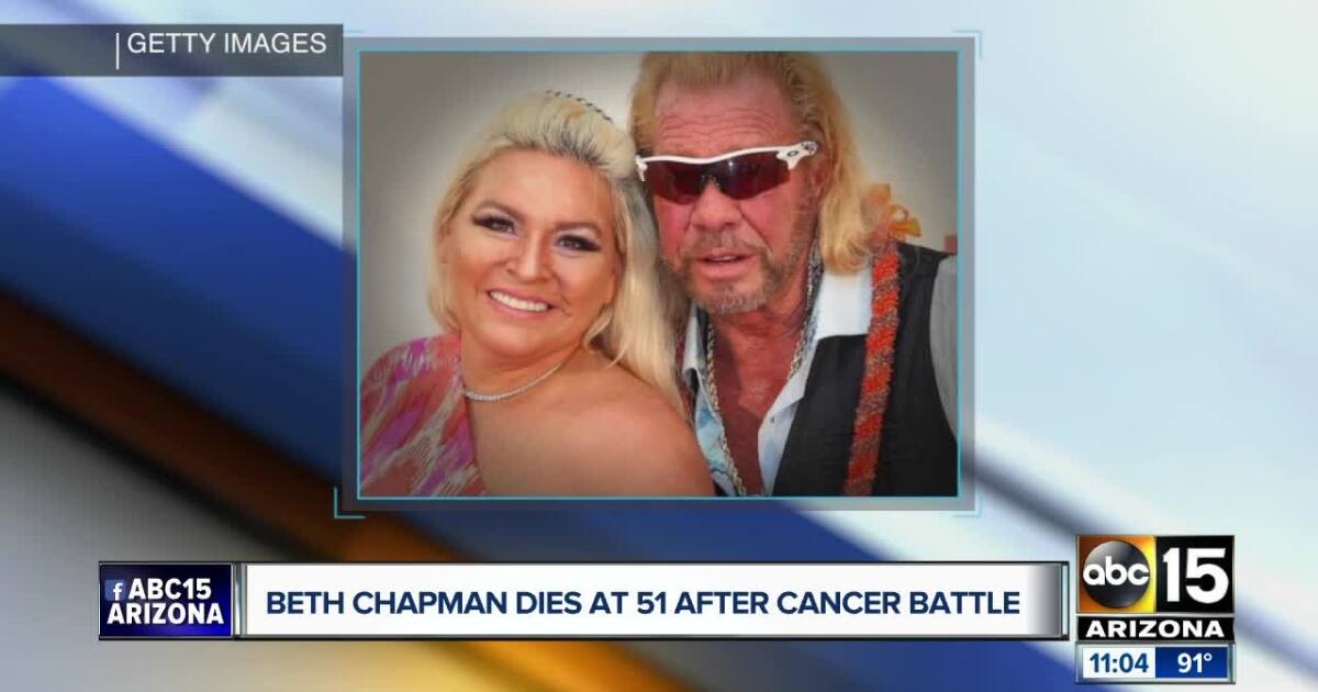 Beth Chapman dies after cancer battle at age 51