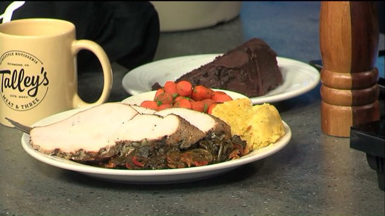 Sample this tasty smoked turkey dish at FolkFeast