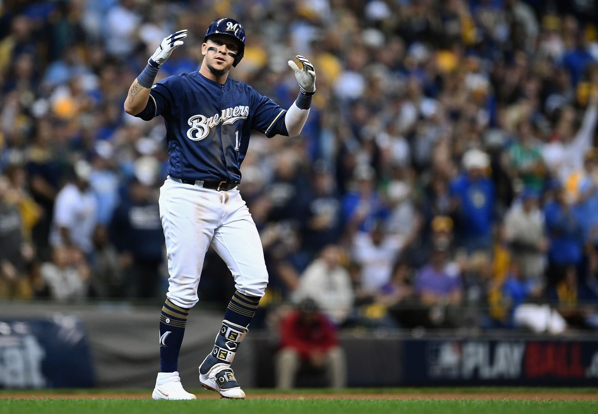 Divisional Round - Colorado Rockies v Milwaukee Brewers - Game Two