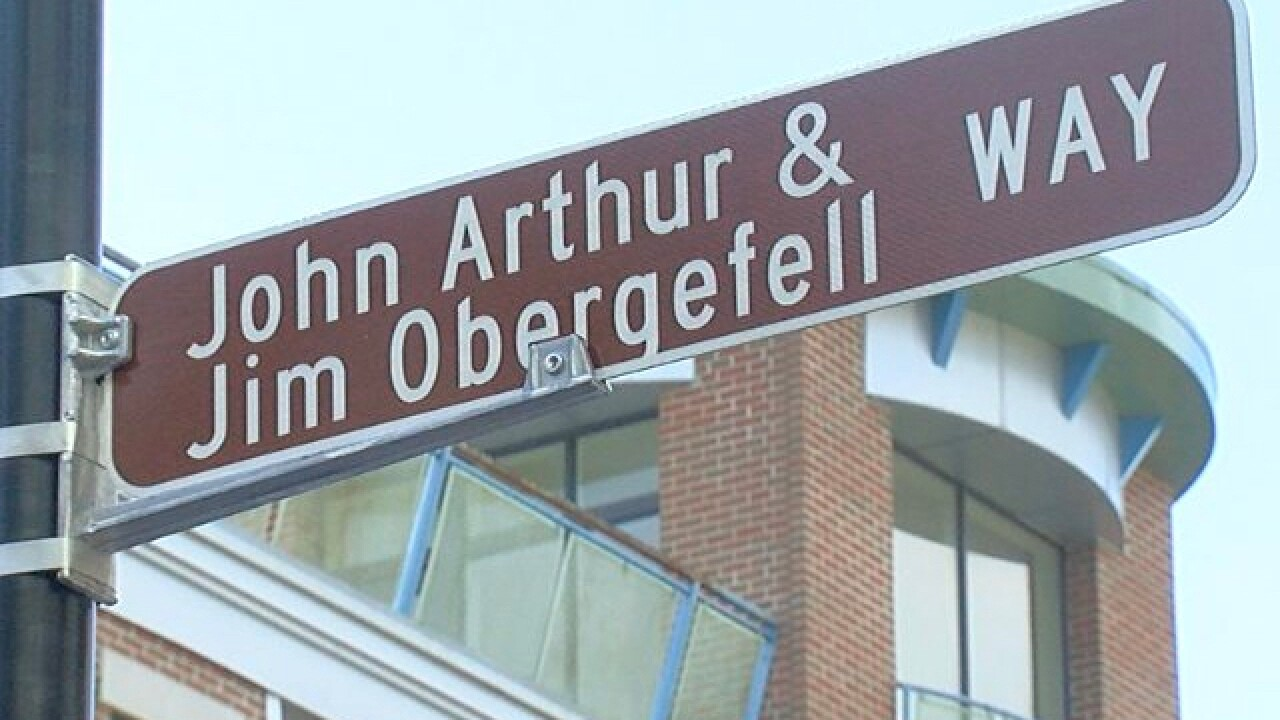 City names street in honor of LGBTQ activists