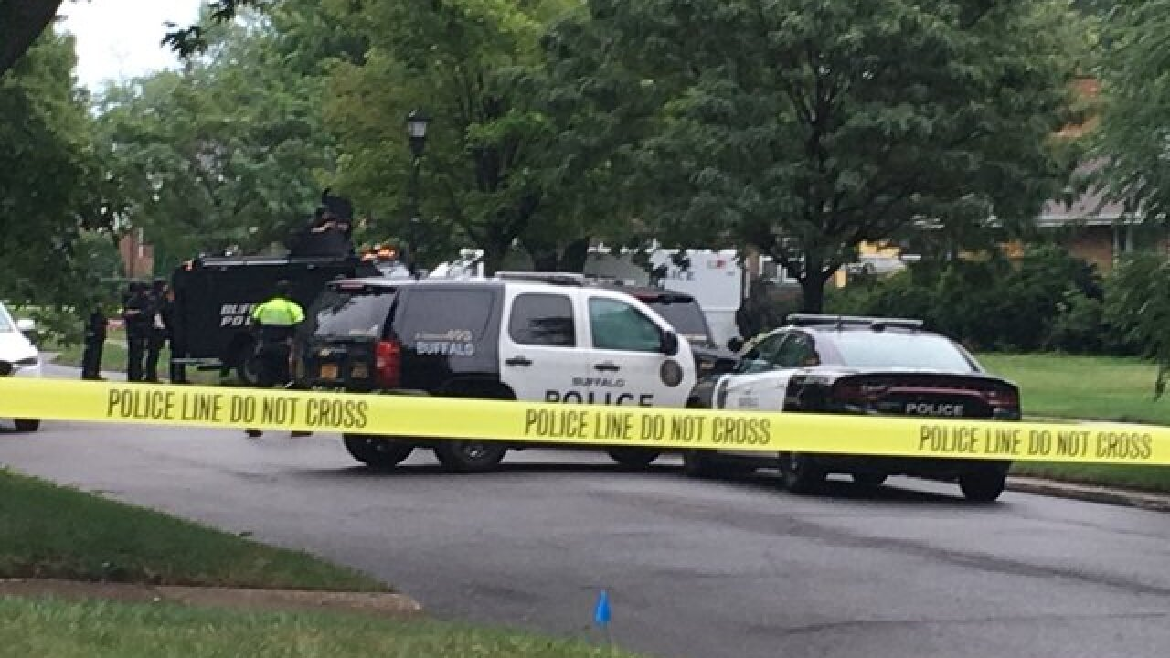 SWAT situation ends peacefully at Kensington neighborhood home