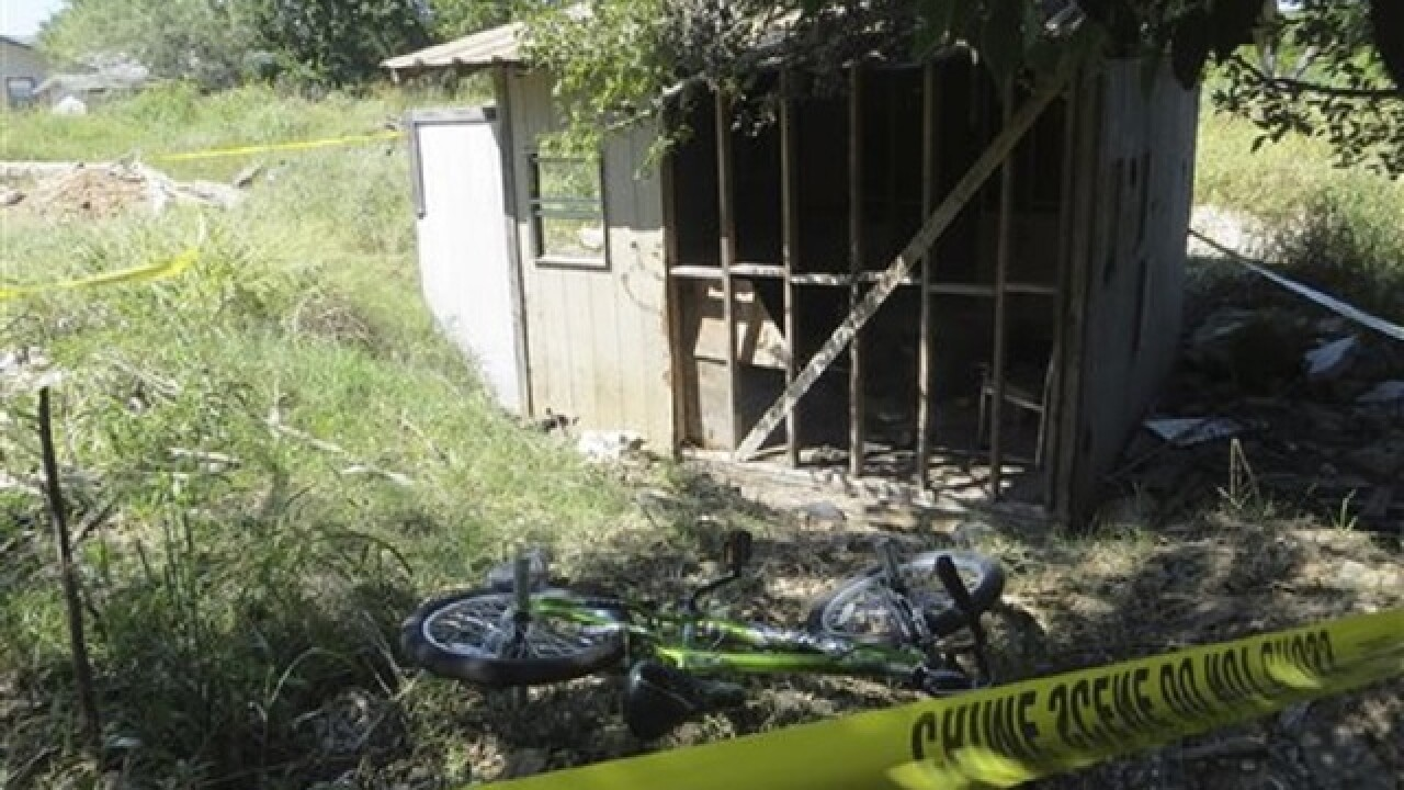 Texas juvenile charged with arson after burning of 10-year-old boy