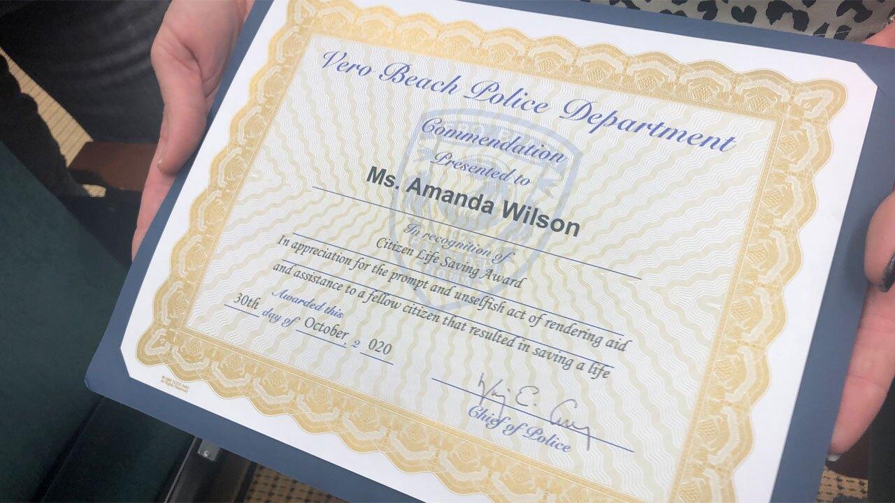 Citizen Life Saving Award