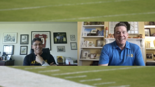 Wink goes 1-on-1 with Ron Rivera