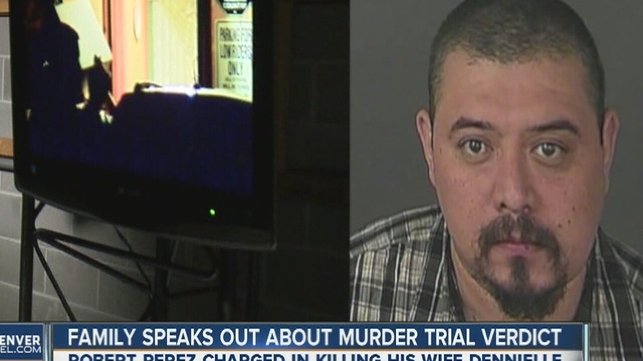 Jury finds Robert Perez guilty of Murder