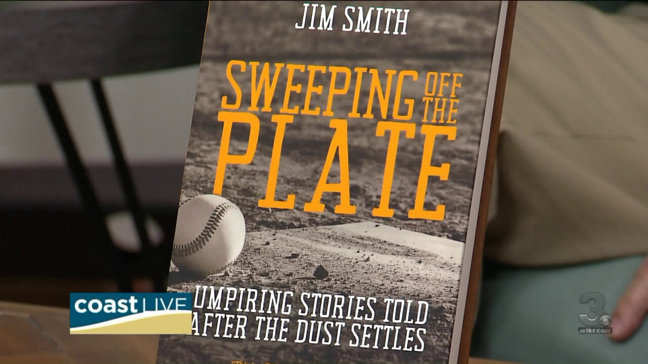 A local umpire's memoir is a home run for charities on Coast Live