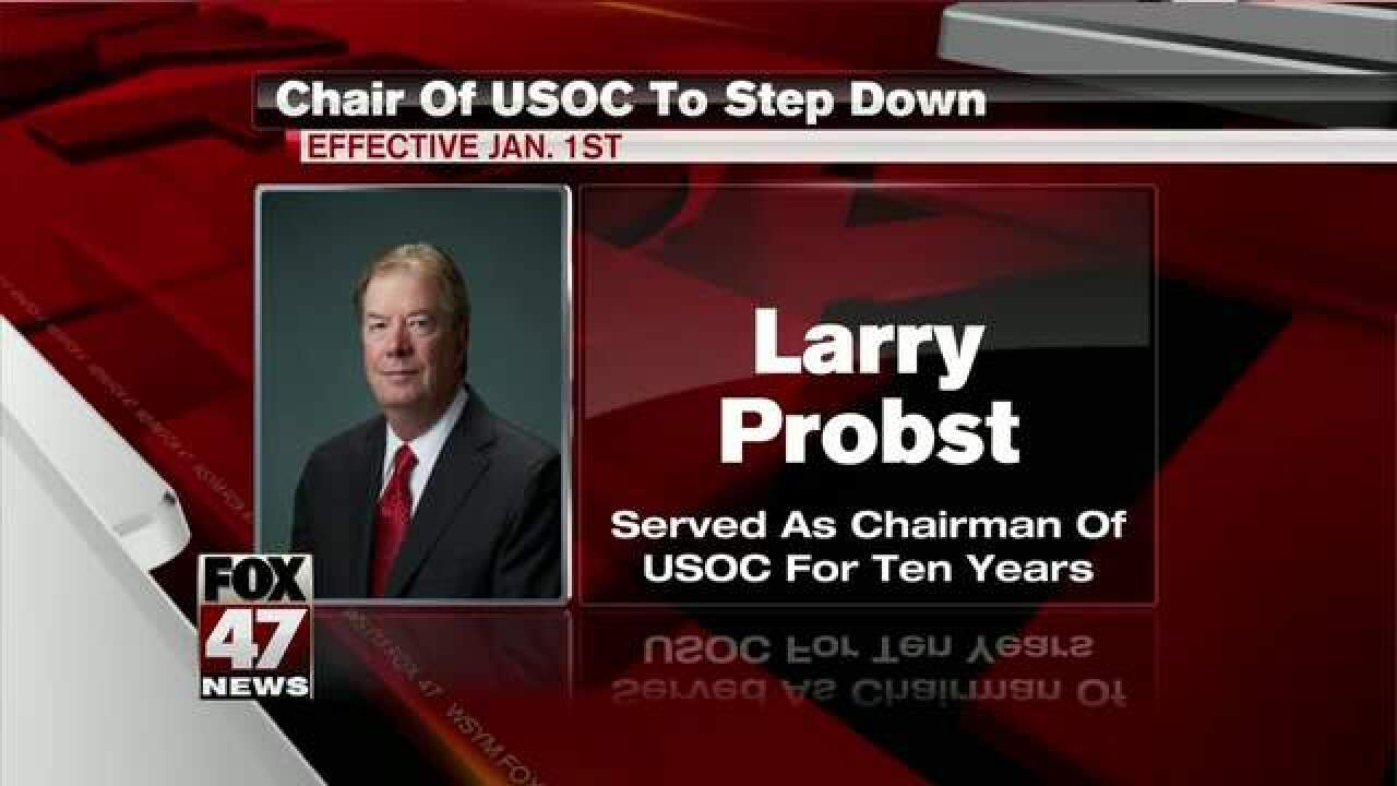 Chair of USOC to step down