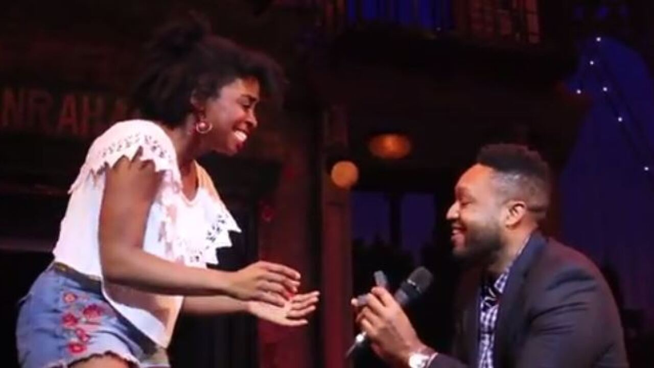 Richmond love story comes full circle with epic proposal at Virginia Rep Theatre