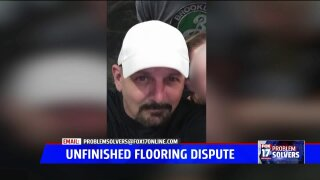 Flooring installer promises to refund customer once bank responds