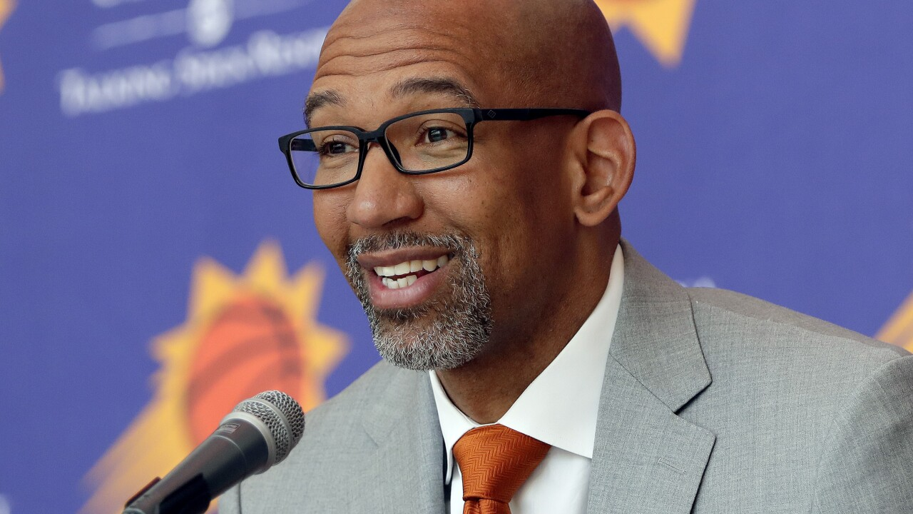 Phoenix Suns Coach Monty Williams Voted Nba Coach Of The Year