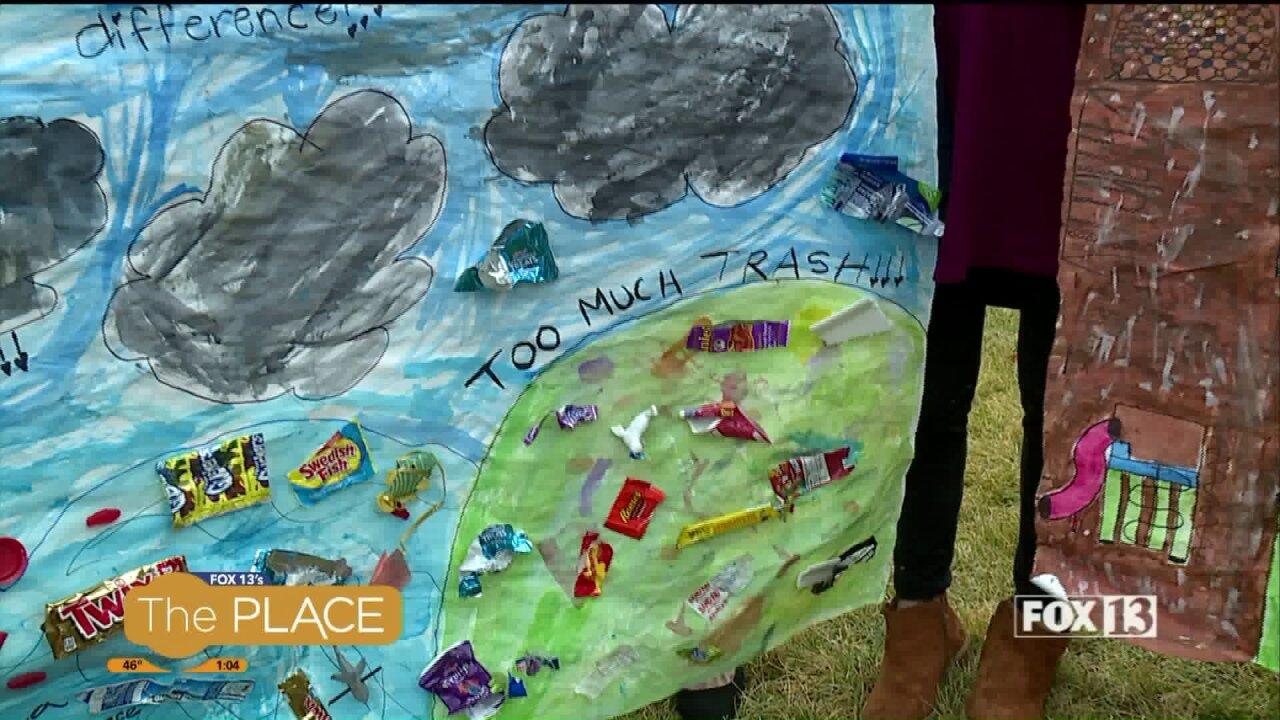 Zero Hunger Zero Waste Hero: Valley View Elementary transformsplastic
