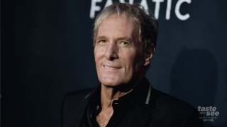 "Michael Bolton attends the LA premiere of ""The Fanatic"" at the Egyptian Theatre on Thursday, Aug. 22, 2019, in Los Angeles. (Photo by Richard Shotwell/Invision/AP)"
