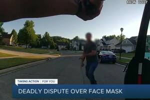 1 dead in stabbing, shooting following argument over wearing masks near Lansing