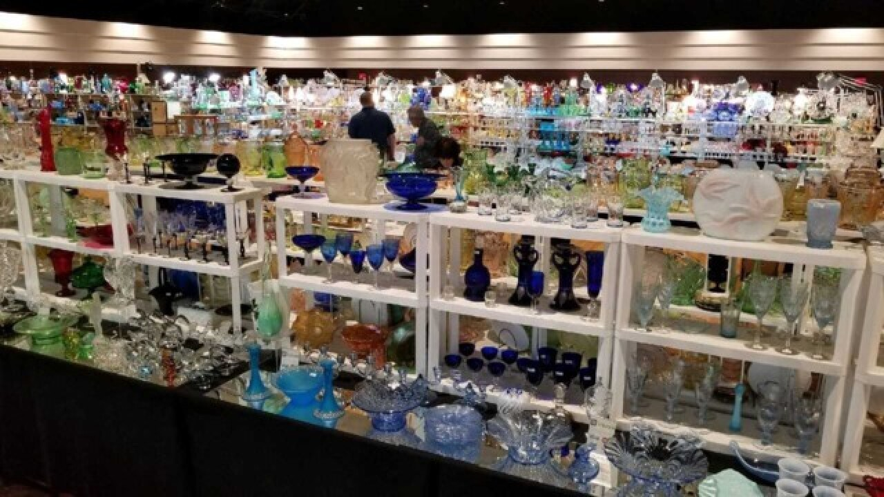 Michigan Depression Glass Society show and sale