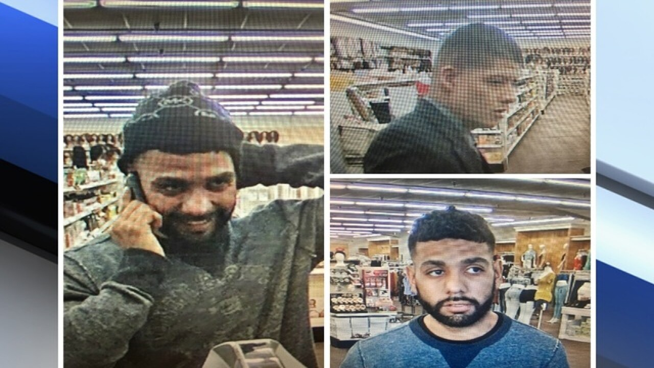 PD: Beauty store bandits caught
