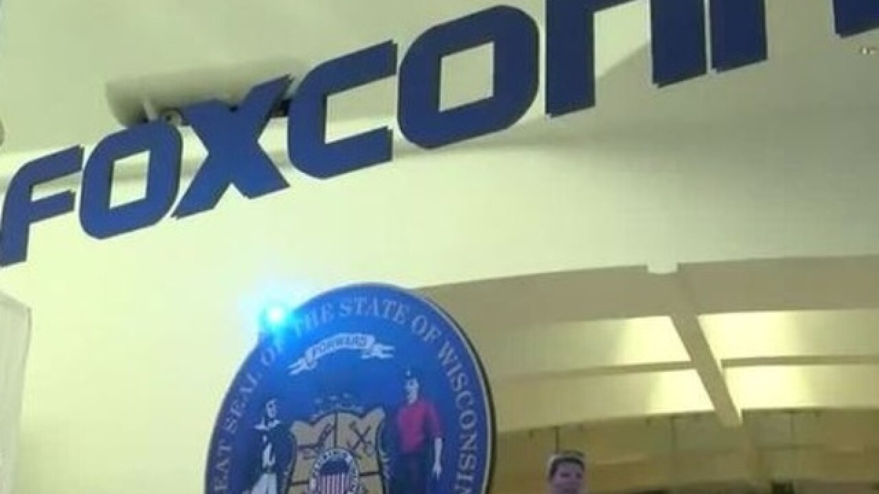 Village Board declares Foxconn area as blighted