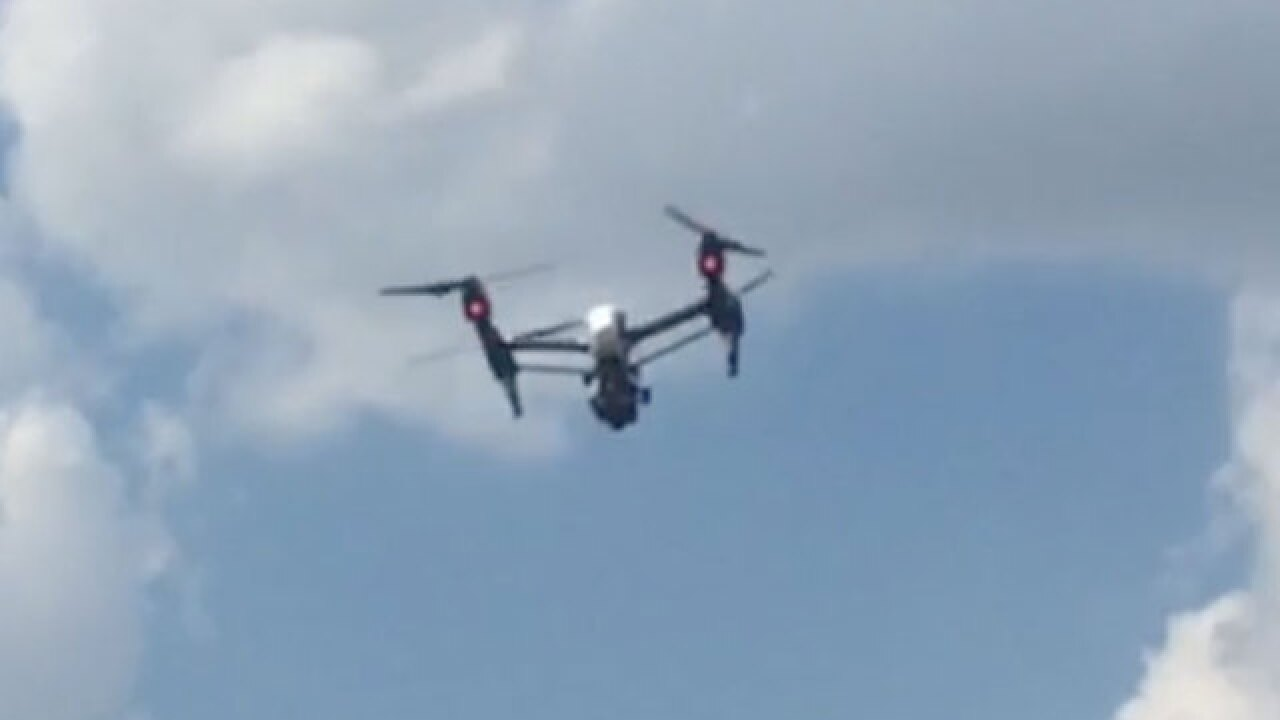 $14K drone helping KCK police fight crime