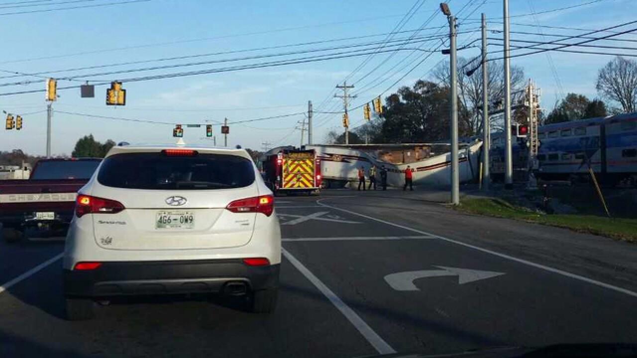 Crews Respond To Train Incident In Lebanon
