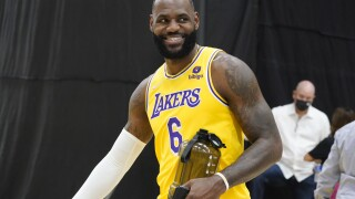 Lakers Media Day Basketball