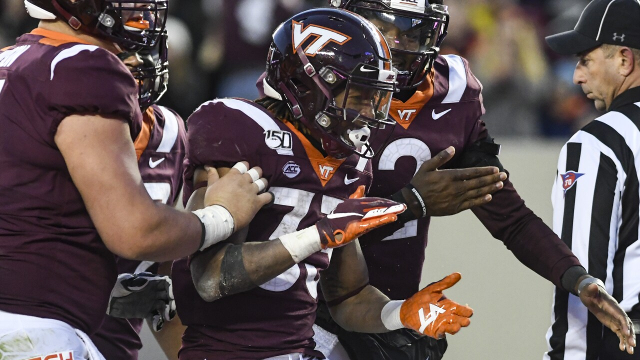 Hokies beat Georgia Tech 45-0, become bowl eligible for the 27th consecutive season