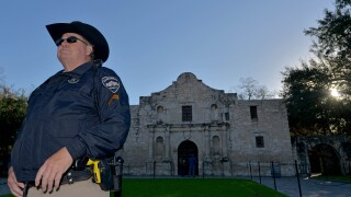 Musket balls found at the Alamo in San Antonio