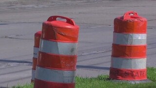 Union members meet regarding road work standoff