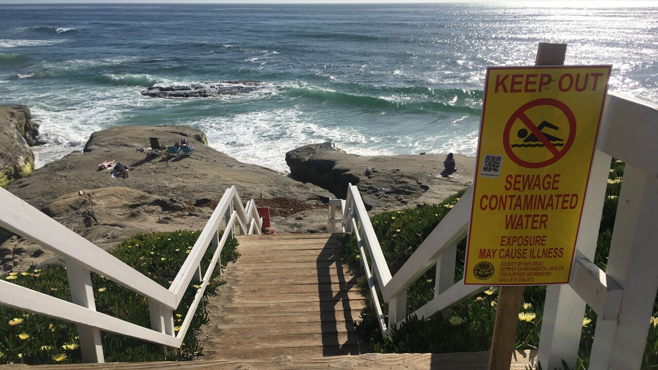 WindandSea sewage spill La Jolla