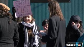 Students stage walkout at Civa Charter High