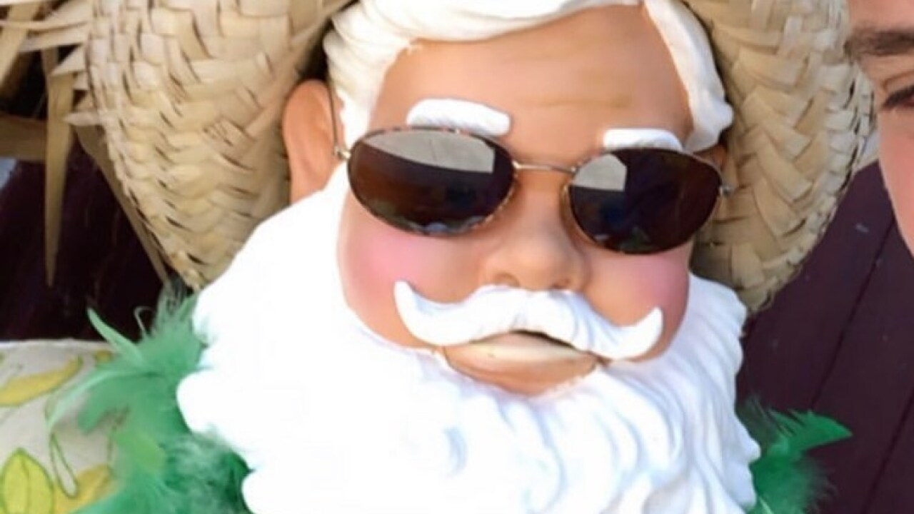Santa stolen from Suffolk store