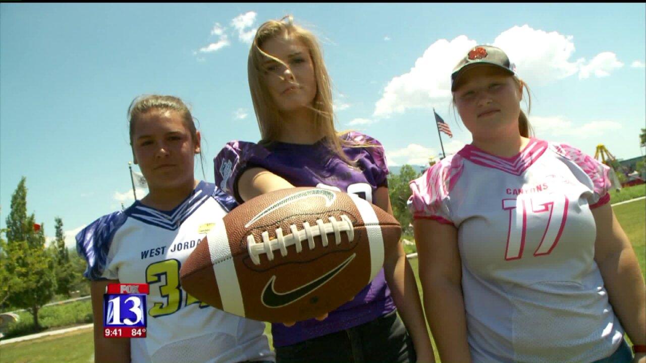 Sam Gordon, other Utah teen girls sue school districts to playfootball