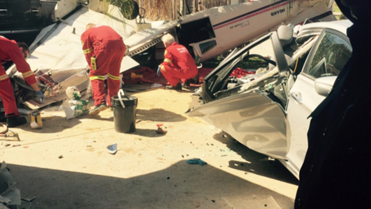 NTSB: No mayday calls before Santee plane crash