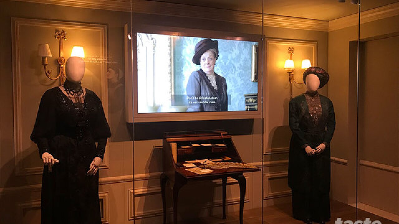 Downton Abbey: The exhibition opens today