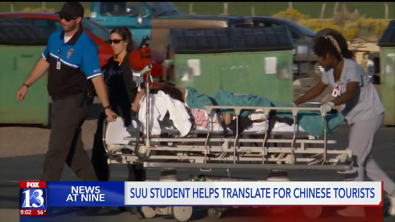 SUU student from Taiwan makes big impact, acts as translator for bus crash victims