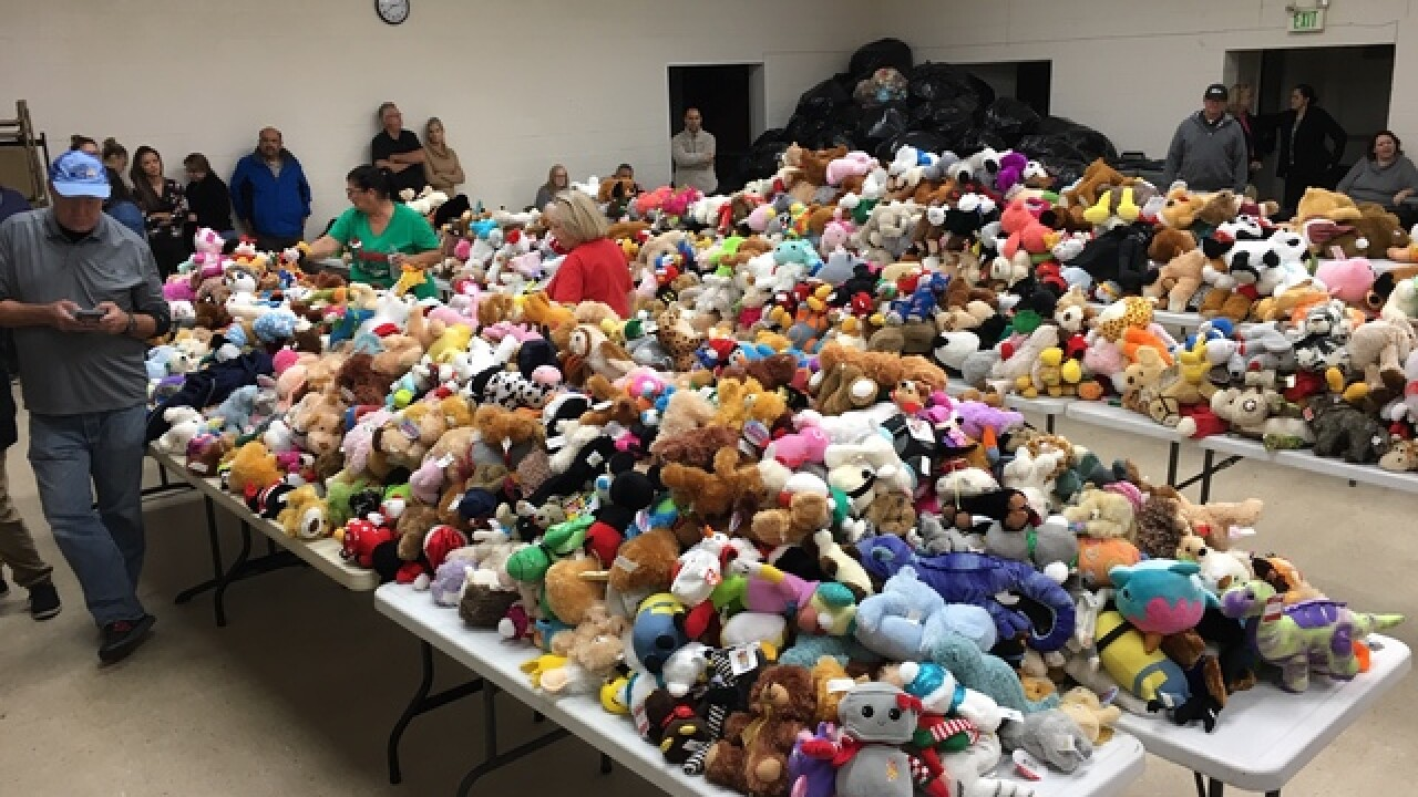 Teddy Bear Toss count hits second-highest mark