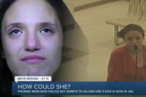 Phoenix mom who police say admits to killing kids in jail