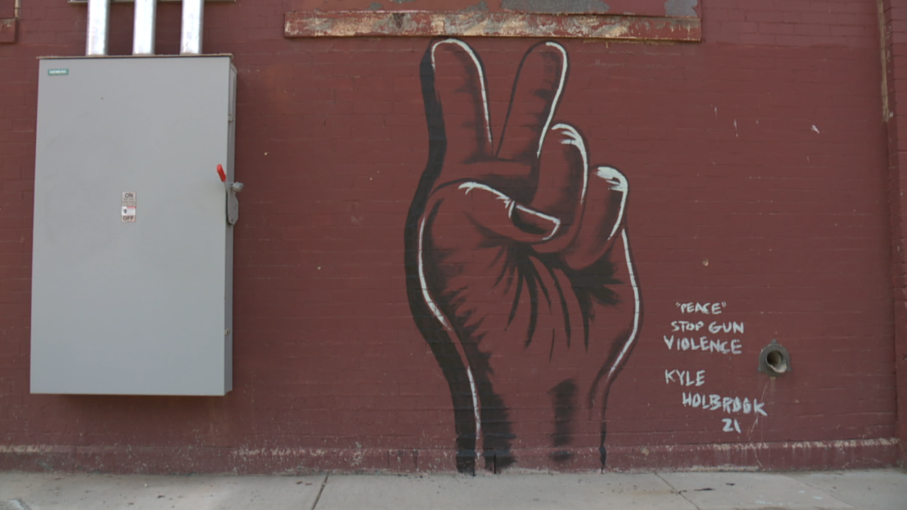 Peace Cleveland mural