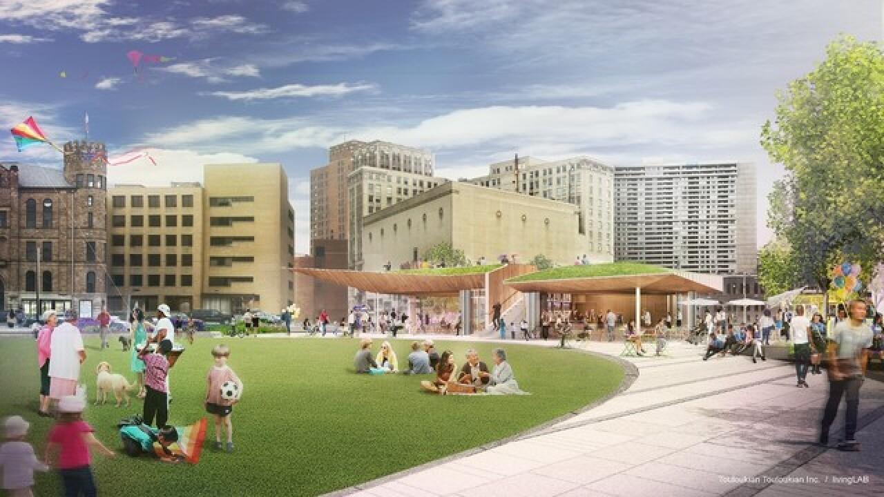 DTE Energy unveils plans for new public park