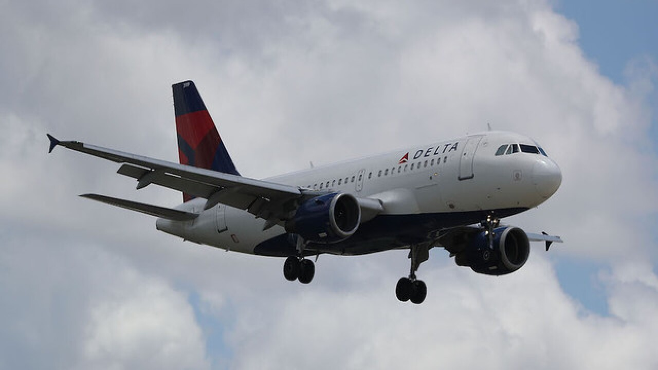 Delta flight makes emergency landing in North Carolina