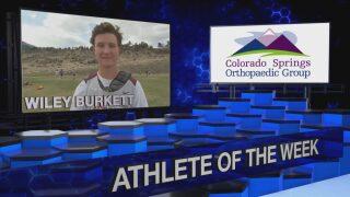 KOAA Athlete of the Week: Wiley Burkett, Cheyenne Mountain Lacrosse
