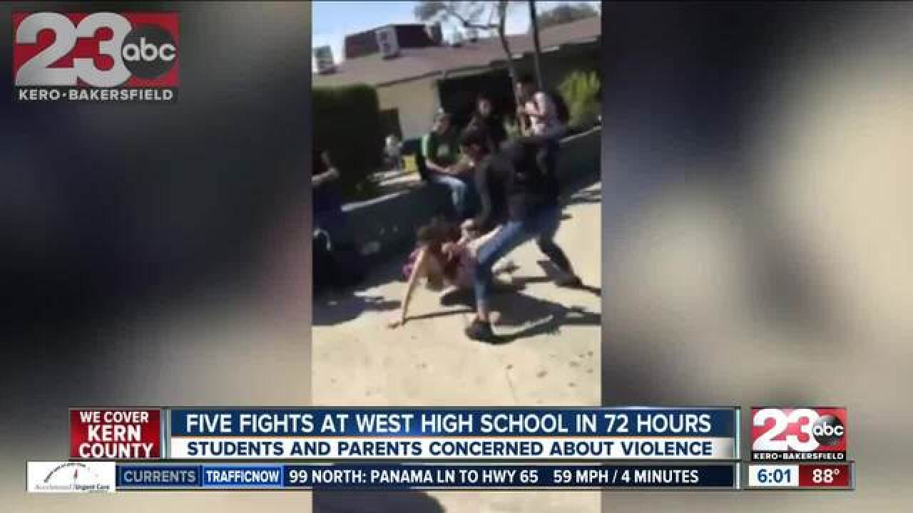 Five Fights In 72 Hours At West High School