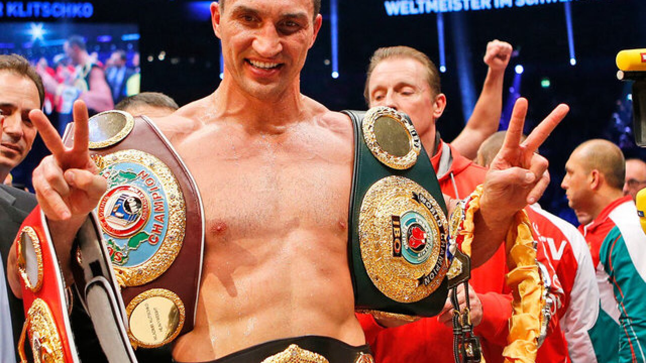 Former heavyweight boxing world champion Wladimir Klitschko retires