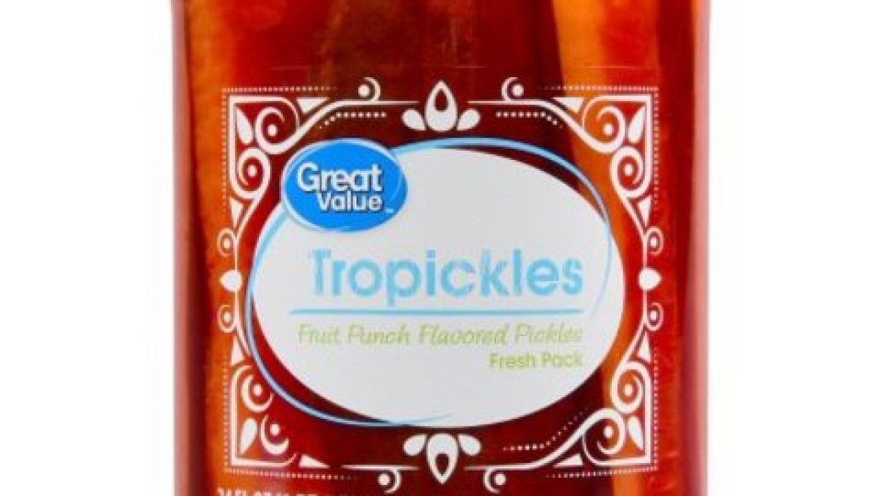 Tropickles make their debut at Walmart
