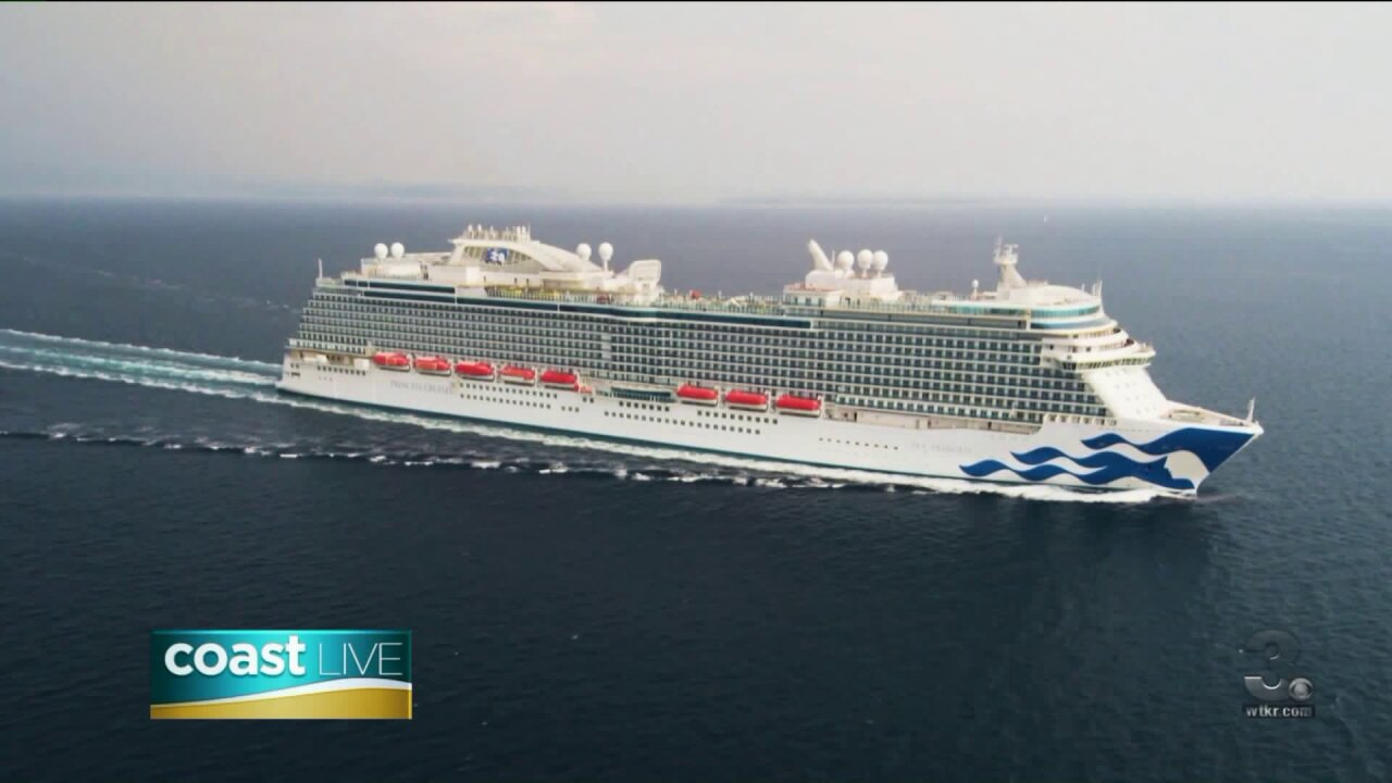 A new way to enjoy a vacation with Princess Cruises on CoastLive