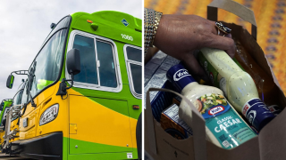 Golden Empire Transit Food Giveaway