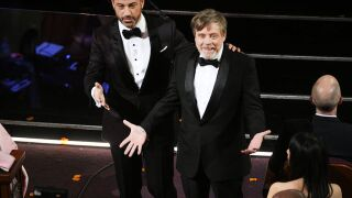 Kimmel's Oscars movie theater stunt a hit