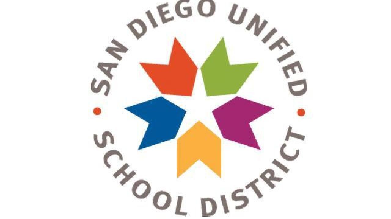 San Diego Unified School District honoring Teachers of the Year at Day of the Teacher Celebration