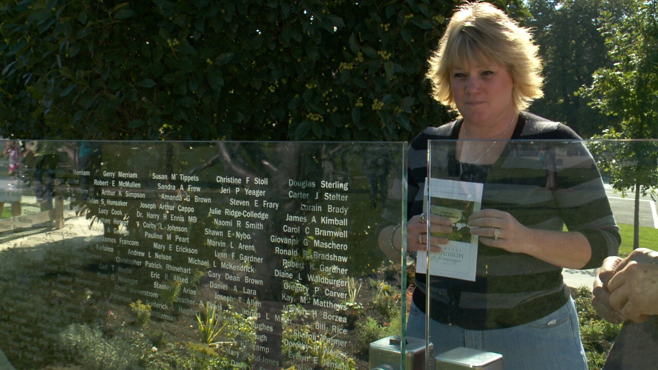 Names added to monument in honor of live-saving donations