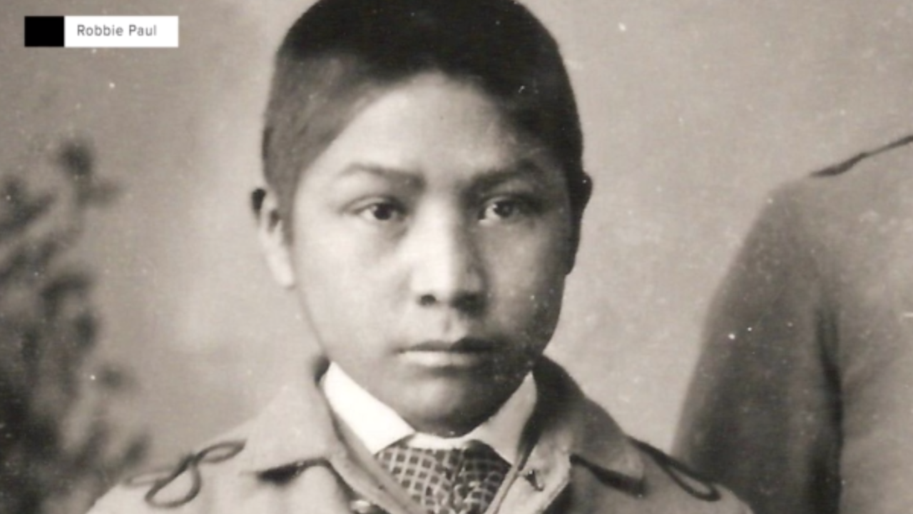 One of the Carlisle Indian School's earliest students was Robbie Paul's grandfather, Jesse Paul. His original name was Black Raven, but it was changed to Jesse Paul when he arrived at the school. He was 10 years old at the time.