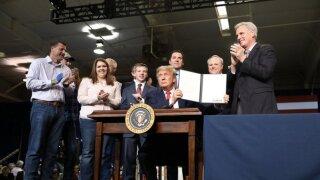 President Trump visits Bakersfield