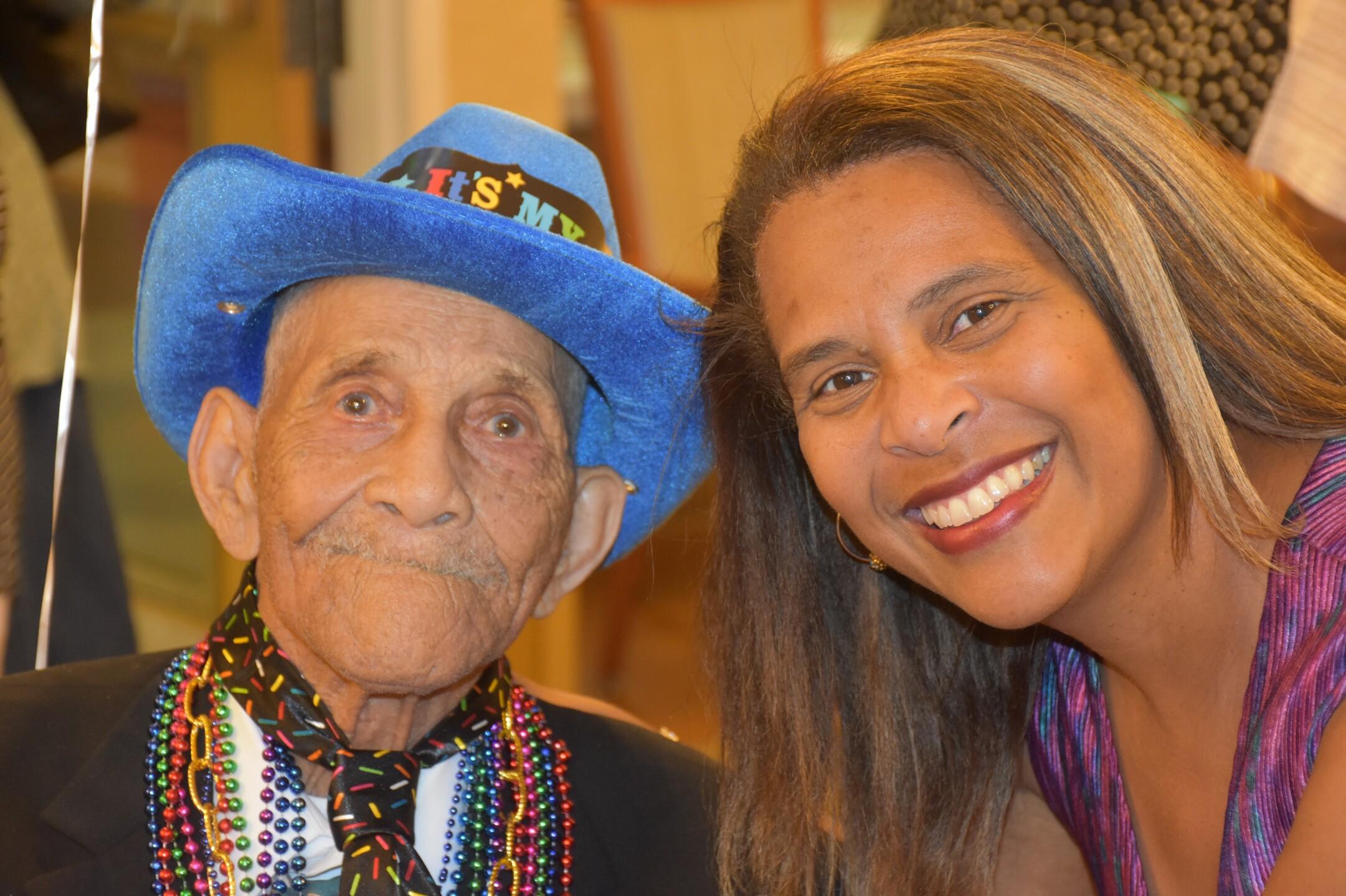 Photos: 100-year-old decorated Powhatan war veteran shares longevitysecret
